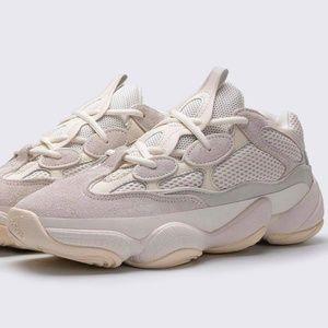 New Adidas Yeezy 500 Bone White Shoes Size 10 Mens